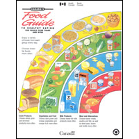 Canada Food Guide Chart 2012 http://publications.gc.ca/site/eng/41962/publication.html